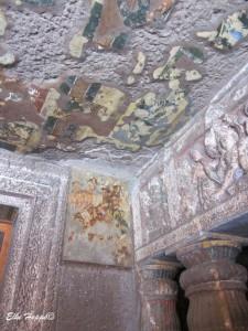 Wandmalerei mit Mineralfarben