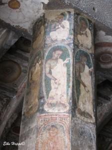 Wandgemälde aus dem Jahr 600 n.Chr.