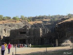 Kailasa Höhlentempel