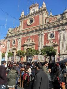 die Barockkirche San Salvador