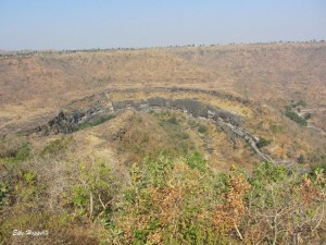 die buddhistischen Höhlen von Ajanta bei Aurangabad