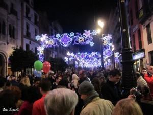 Weihnachtsbeleuchtung in Sevilla