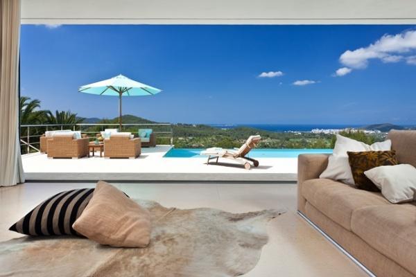 Ein Luxus-Ferienhaus auf Ibiza