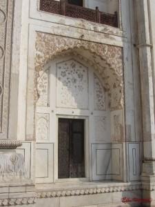 die Imitation des Taj Mahal aus Sandstein