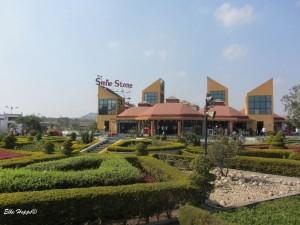 Raststätte in Maharashtra auf dem Weg nach Pune