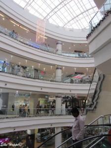 das Einkaufszentrum