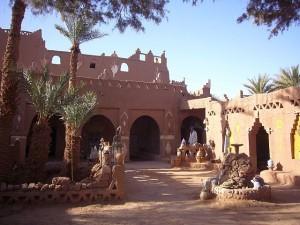 Marokko - Übernachtung in der Oase