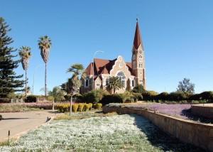 Start unserer Namibia Mietwagenreise in Windhoek