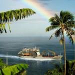 Aranui Schiffsreisen – Frachtschiffreisen vor Tahiti und Bora Bora