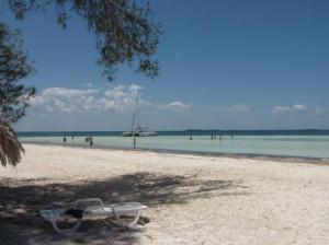 Entspannung am Strand zum Ende unserer Kuba Reise