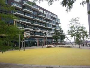 Hafencity Hamburg Basketballplatz