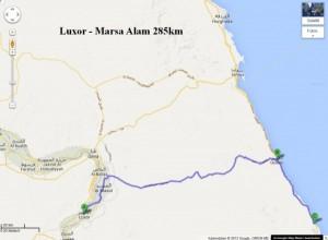 Fahrt Luxor nach Marsa Alam
