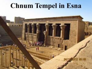 Chnum Tempel in Esna