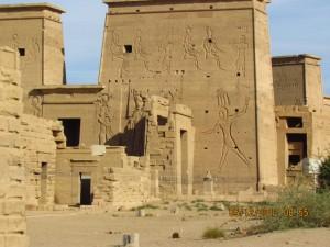 Tempelansicht Philae