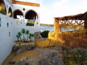 Blick vom Nubischen Dorf auf den Nil