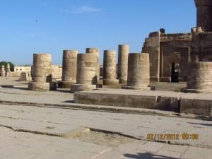 Säulen Sobek Tempel