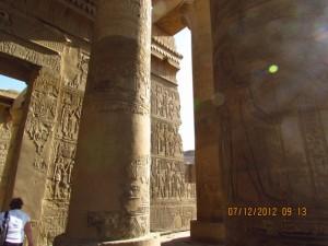 Innenansicht Sobek Tempel
