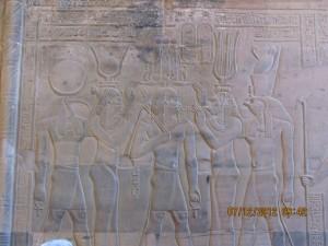 Hieroglyphen Sobek Tempel