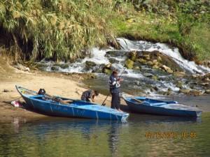 Fischer am Nilufer