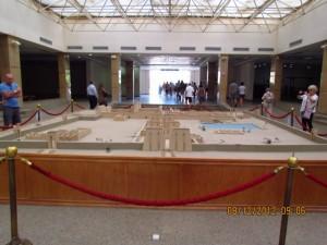 Besucherhalle Karnak Tempel