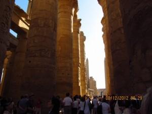 Karnak Tempel Licht und Schatten
