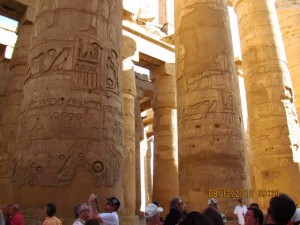ägyptische Baukunst in Karnak