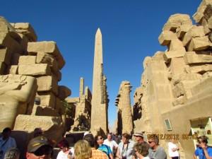 Monolit im Karnak Tempel