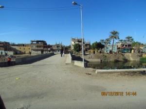 Weg nach Luxor