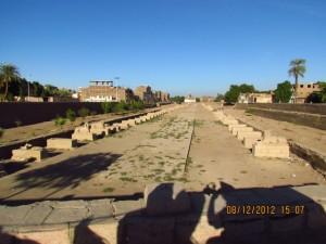 Stadtansicht in Luxor