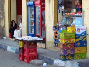 Geschäfte in Luxor