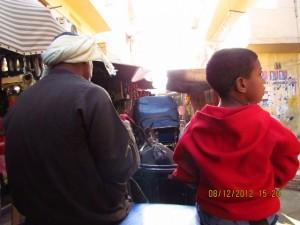 Luxors enge Gassen