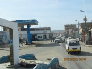 Straße durch El Qusir
