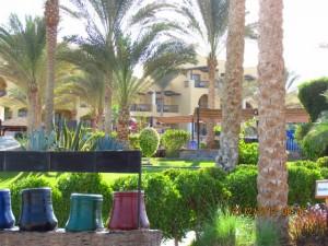 Garten vom Iberotel Lamaya Resort