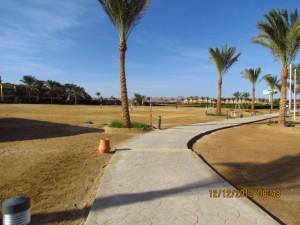 Weg zum Strand Iberotel Lamaya Resort