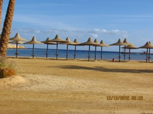 Strand vom Iberotel Lamaya Resort