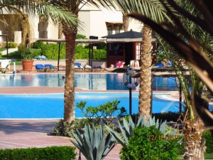 Mehrere Pools im Iberotel Lamaya Resort