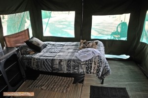 Siesta in der Hitze des Tages im Shumba Picnic Site
