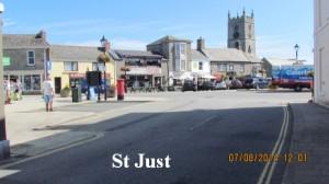 St. Just England