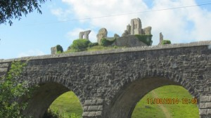 Foto von Corfe Castle