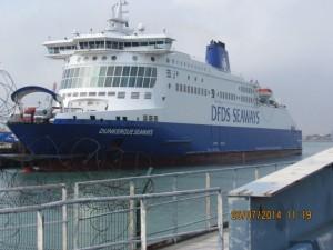 Fähre der DFDS Seaways