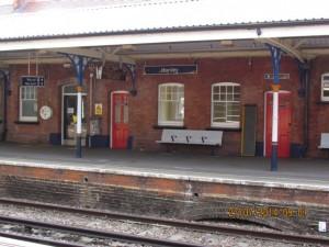 Bahnhof Horsley