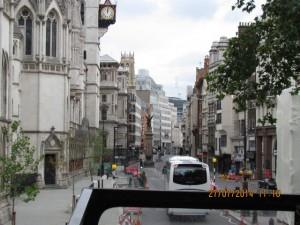 im Doppeldecker Bus in London