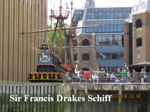 Sir Francis Drakes Schiff