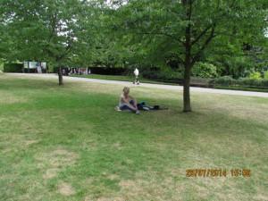 ausruhen im Regents Park
