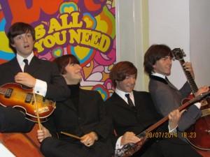 Beatles Madame Tussauds