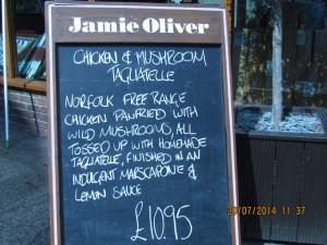 Jamie Oliver in Guildford