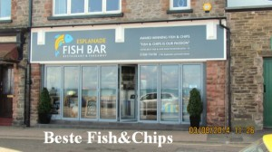 Fish & Chips in Lynmouth