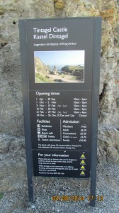 Tintagel Castle Info