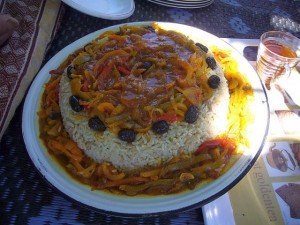 Köstliche marokkanische Gerichte