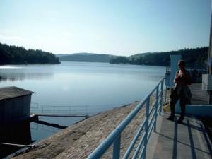 Moldau Stausee